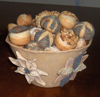 Learn how to make decorative breads