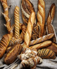 Learn to bake decorative bread