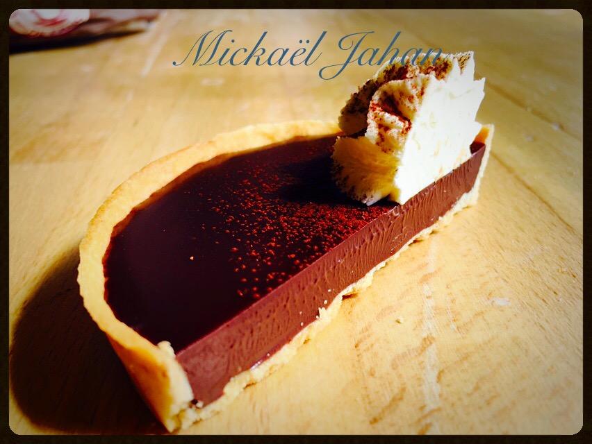 Intense Chocolate Ganache Tartlet
