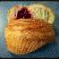 Raspberry Cruffin